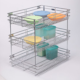 Pullout Organiser Three Shelves